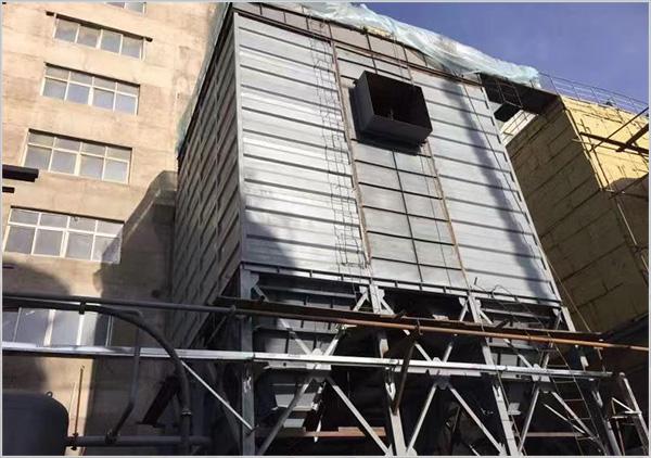 2018朝陽凌源工程2號除塵噴吹管安裝